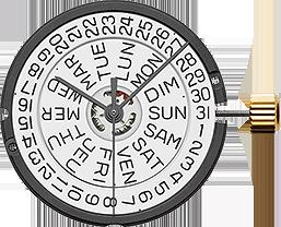ETA 805.122 Quartz Watch Movement