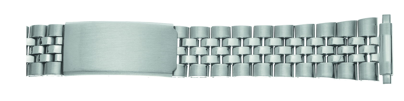 Stainless Steel Metal Expansion Band, 16-21MM Ends