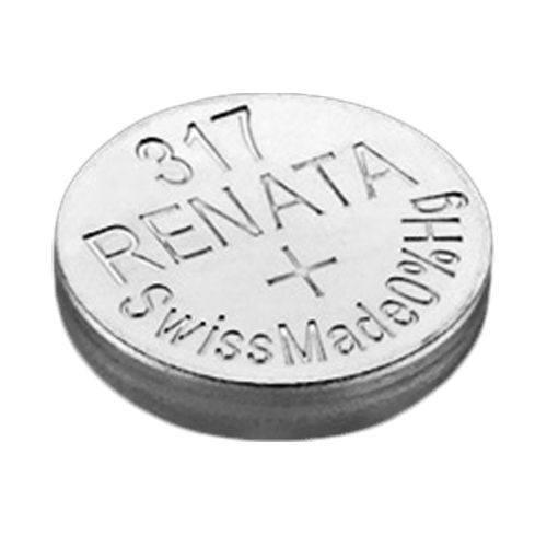 Renata Silver Oxide 317 Battery
