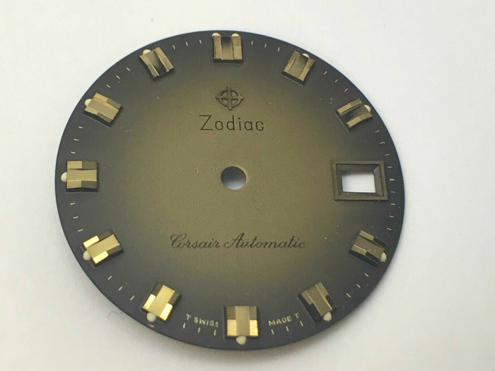 Zodiac Cosair Automatic Brown and Gold Dial