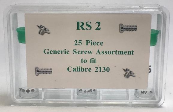 Generic Rolex® 2130 Screw Assortment, 25pcs