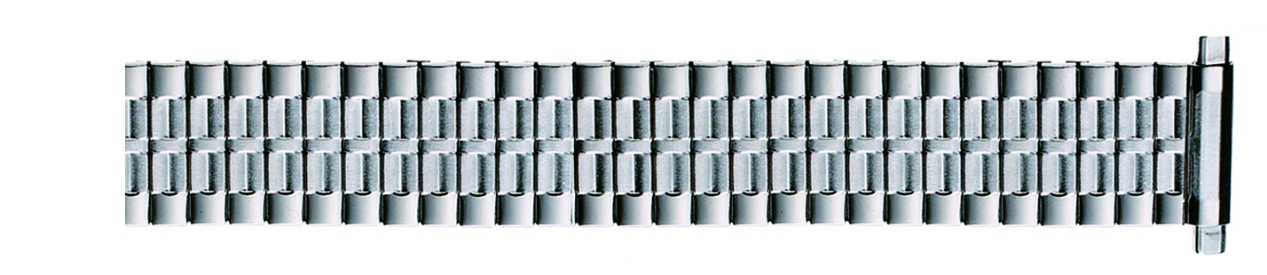 Stainless Steel Metal Expansion Band, 16-22MM curved ends-0