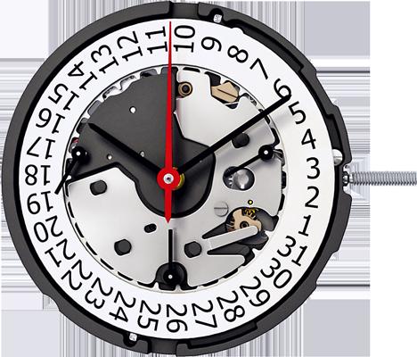 Ronda Z60 Quartz Watch Movement
