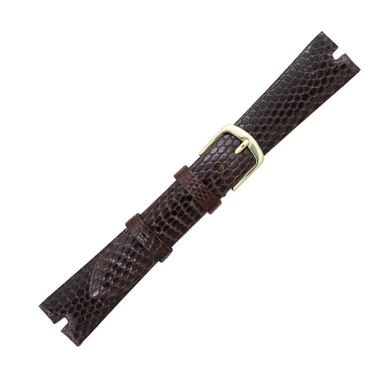 Hadley Roma Genuine Java Lizard Brown Watch Band, Gucci® Style