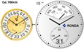 Ronda 7004N Quartz Watch Movement