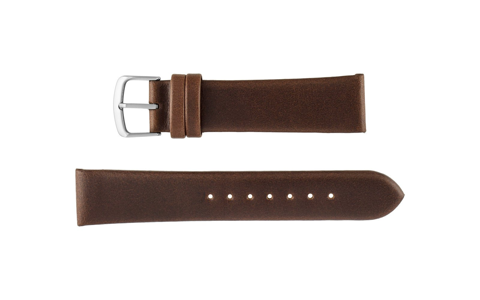 Hadley Roma 20mm Brown Oil Tan Leather Watch Strap, Kenneth Cole® Style