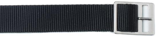 Black Nylon Sport Watch Strap, 3 sizes