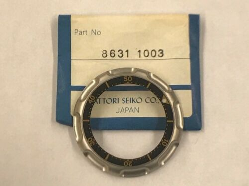 Seiko Ashtray Tuna SQ 600M Divers Bezel 7C46-6009 Stainless/Titanium