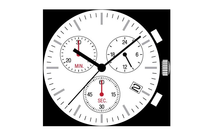 Hattori VR34 Quartz Watch Movement
